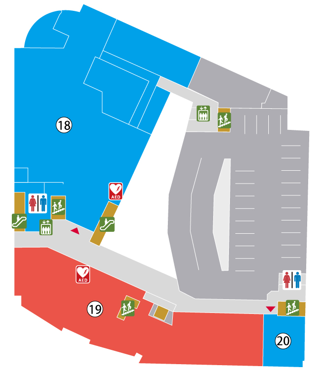 2階館内マップ