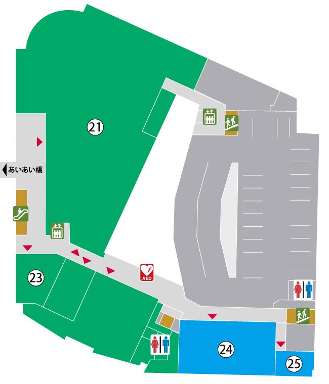 3階館内マップ